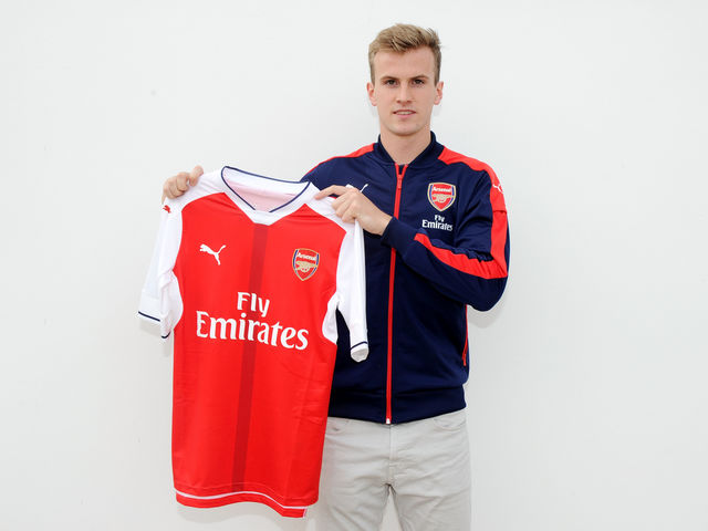 Maillot Domicile Arsenal Rob Holding