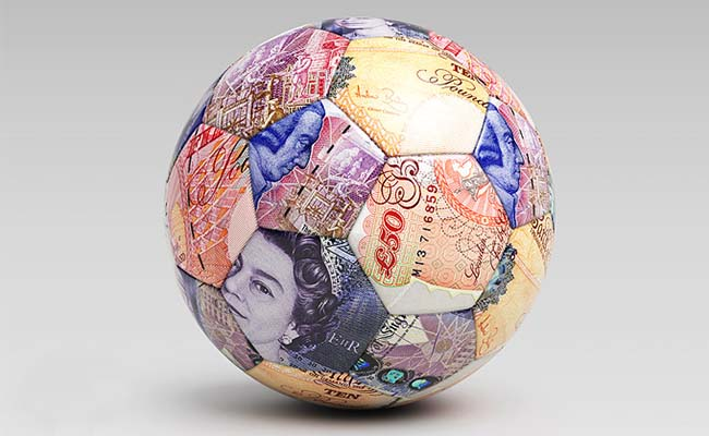 Fifty Pound Note Football
