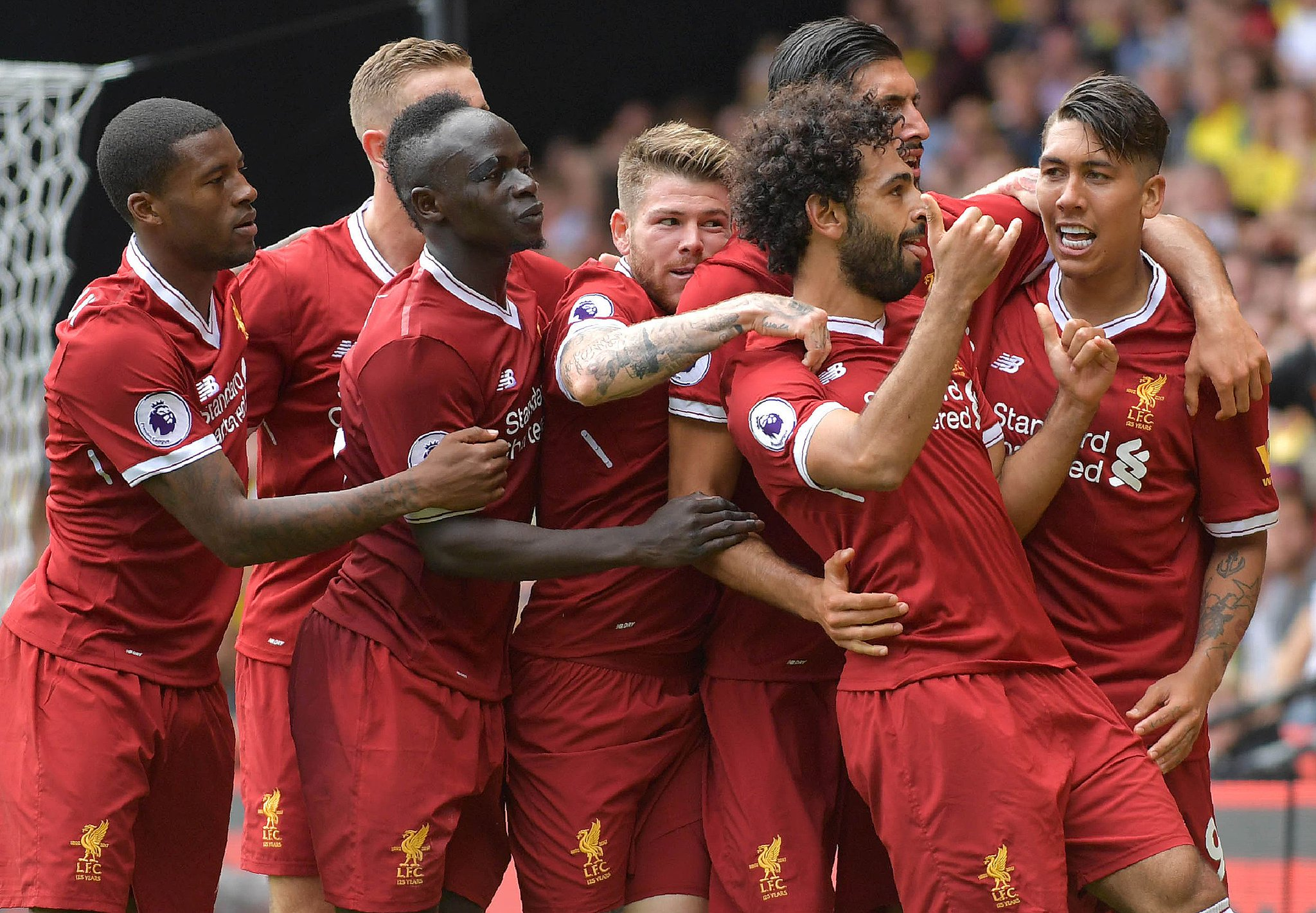 Liverpool célébration