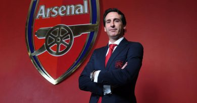 LONDON, ENGLAND - MAY 23:  Arsenal Unveil New Head Coach Unai Emery at Emirates Stadium on May 23, 2018 in London, England.  (Photo by Stuart MacFarlane/Arsenal FC via Getty Images) *** Local Caption *** Unai Emery