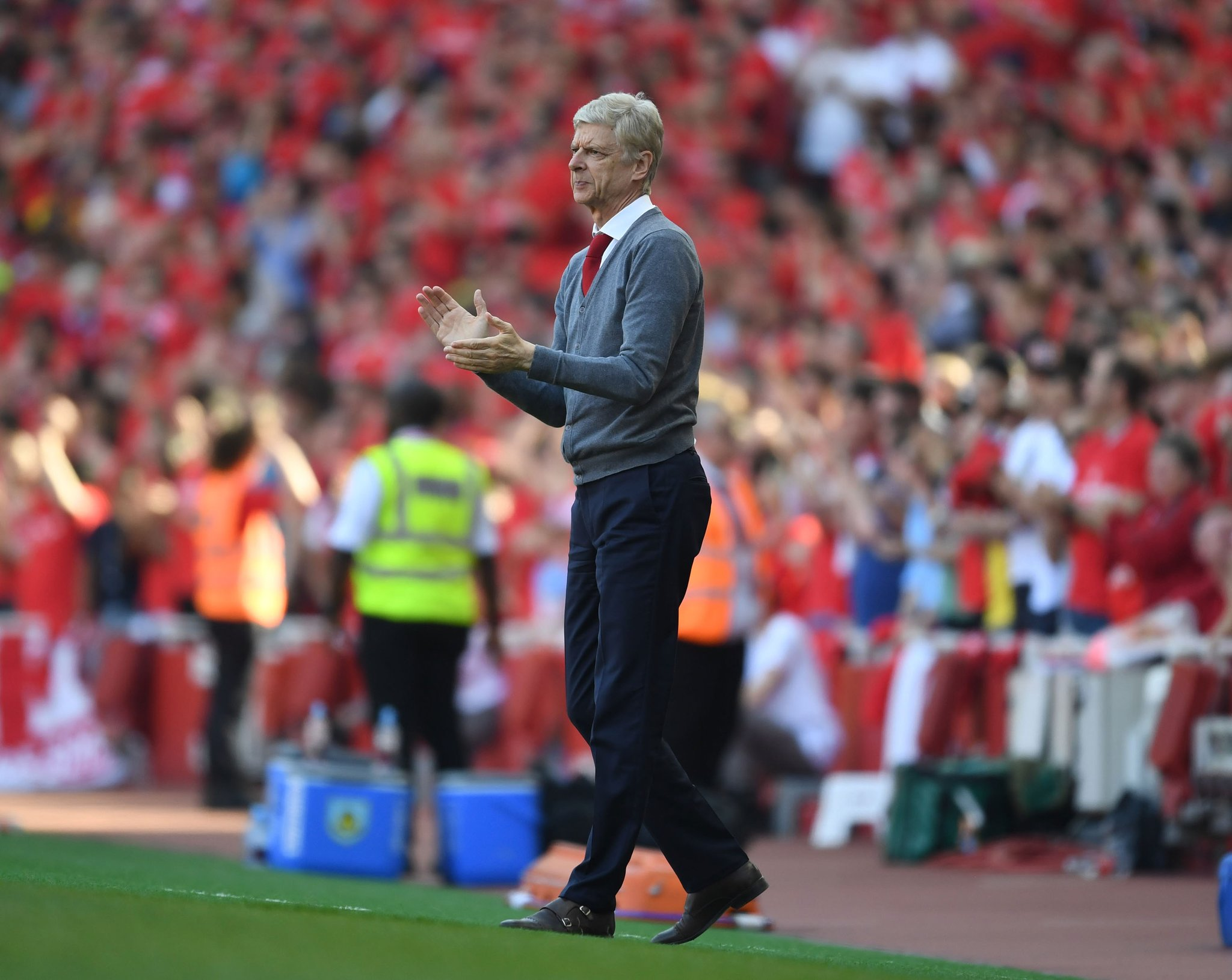 Wenger applaudit