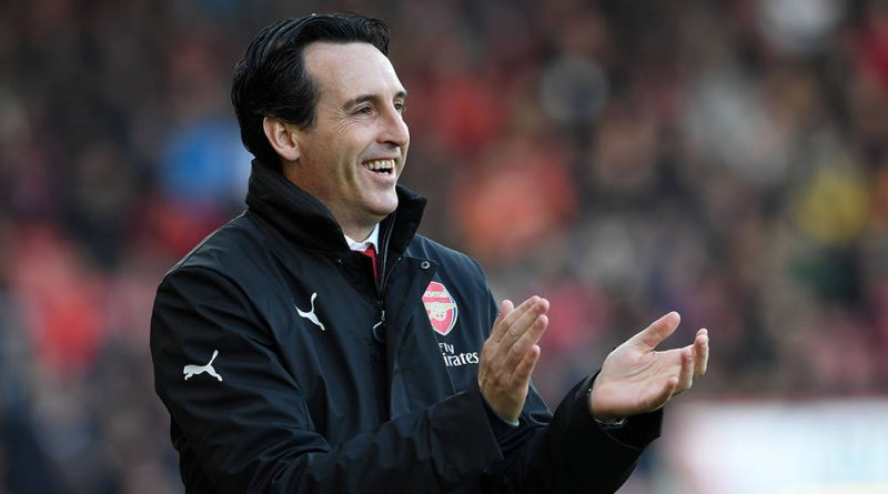 BOURNEMOUTH, ENGLAND - NOVEMBER 25:  Arsenal Head Coach Unai Emery during the Premier League match between AFC Bournemouth and Arsenal FC at Vitality Stadium on November 25, 2018 in Bournemouth, United Kingdom.  (Photo by David Price/Arsenal FC via Getty Images)