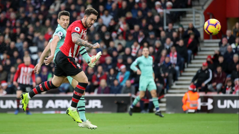 Ings Southampton Arsenal