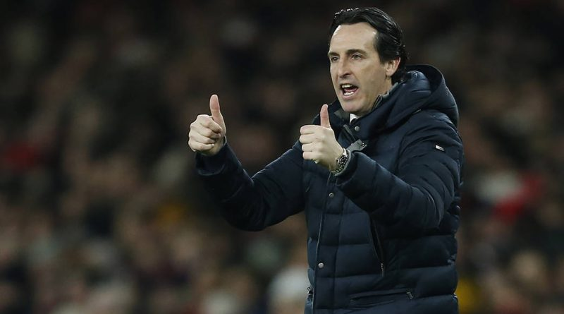 Arsenal's Spanish head coach Unai Emery gestures on the touchline during the English Premier League football match between Arsenal and Cheslea at the Emirates Stadium in London on January 19, 2019. (Photo by Ian KINGTON / IKIMAGES / AFP) / RESTRICTED TO EDITORIAL USE. No use with unauthorized audio, video, data, fixture lists, club/league logos or 'live' services. Online in-match use limited to 45 images, no video emulation. No use in betting, games or single club/league/player publications.        (Photo credit should read IAN KINGTON/AFP/Getty Images)