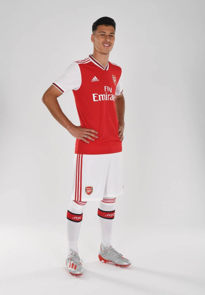 Gabriel Martinelli, Arsenal's latest signing. Arsenal Training Ground. London Colney, Herts, 26/6/19. Credit : Arsenal Football Club / David Price.