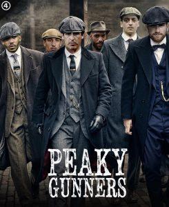Peaky Gunners Arsenal Gunners