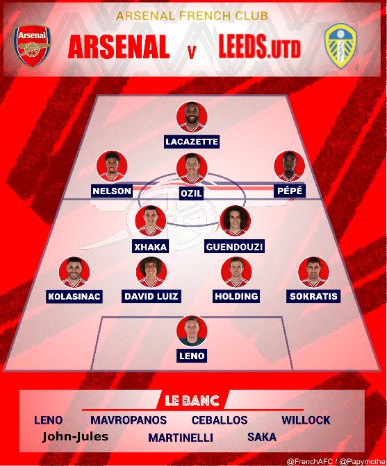 Arsenal-Leeds compo AFC