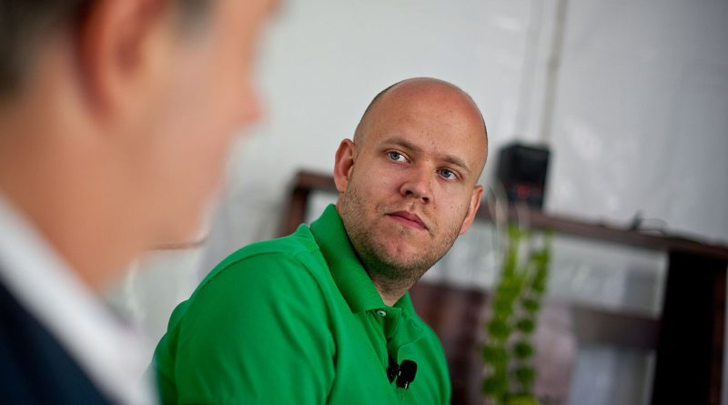Daniel Ek fondateur de Spotify